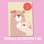 Free Printable Mother's Day Card 3