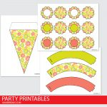 Citrus Party Printables