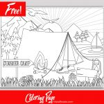 Free Printable Summer Camp Page