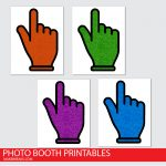 Free Pointing Hands Photo Props