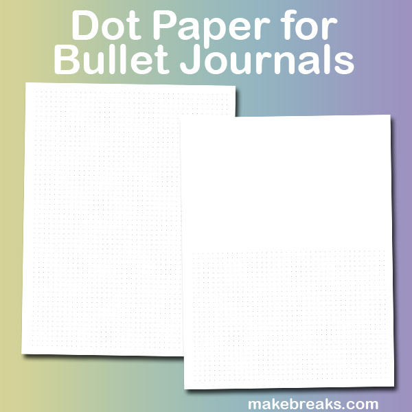 This is a graphic of Free Printable Bullet Journal Pages in bill tracker printable