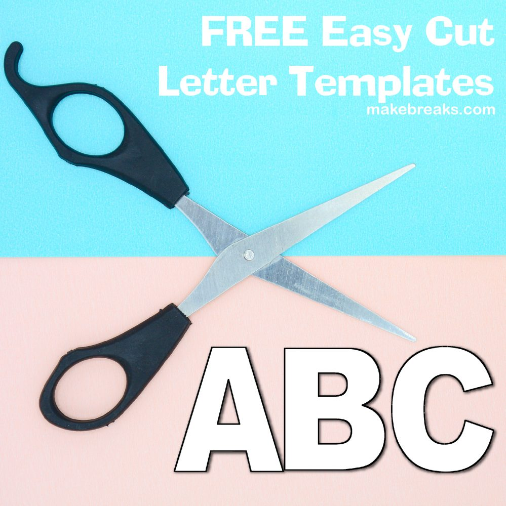 It's just an image of Free Printable Extra Large Letter Stencils with single