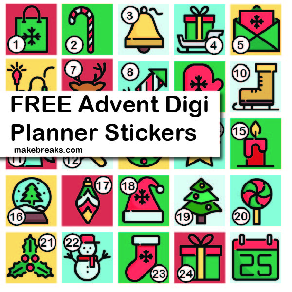 Advent Stickers PV-01