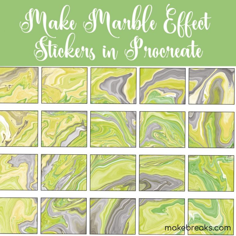 make marble effect stickers-01