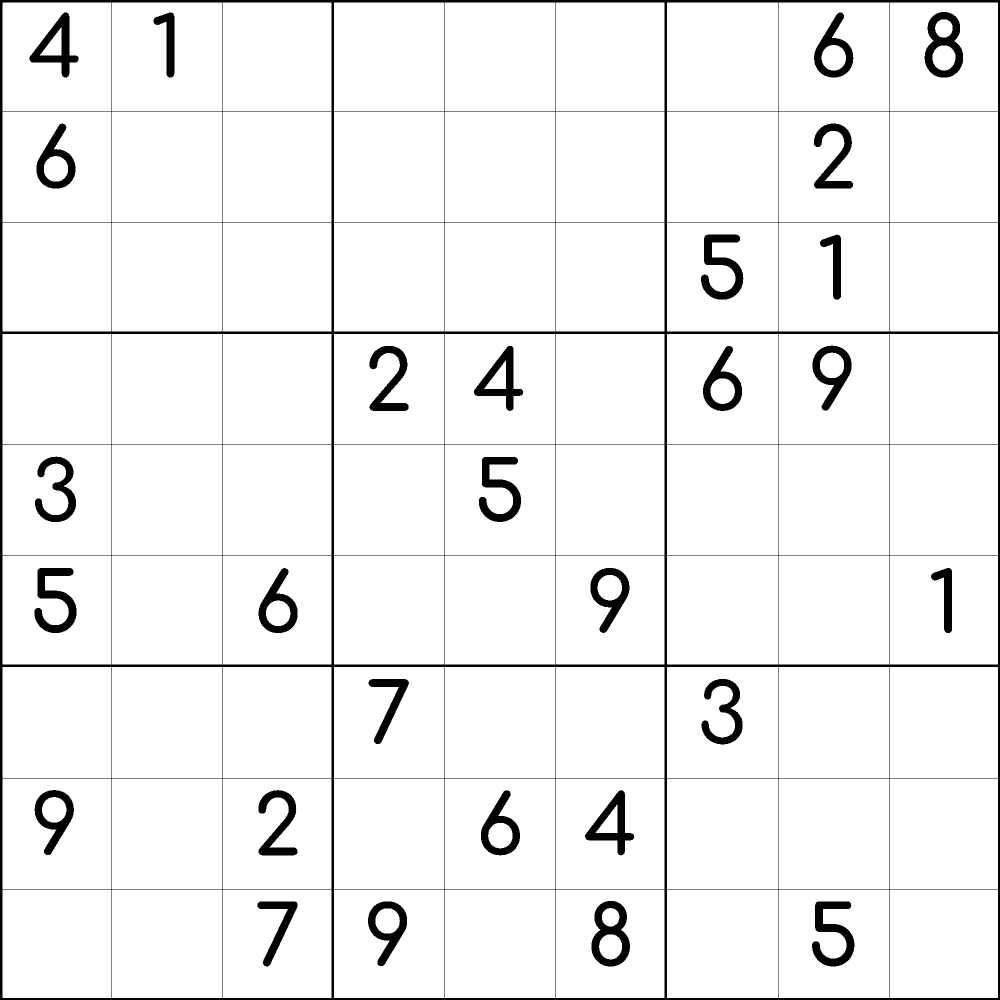 It is a graphic of Medium Sudoku Printable pertaining to design